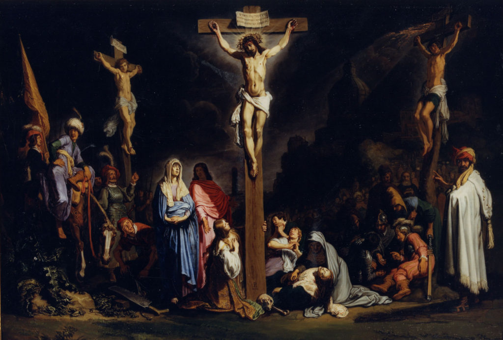 an analysis of the agonizing trial of jesus in the bible Reflections on the crucifixion by father charles irvin i want to suggest to you that jesus christ died his agonizing death on the cross in order to free you.